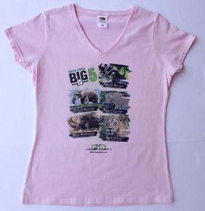 Big 5 Pink Ladies Tshirt