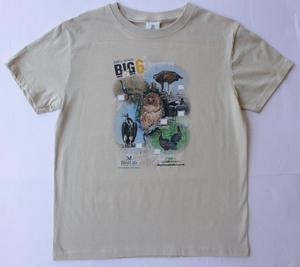 Big 6 Birds Beige Tshirt
